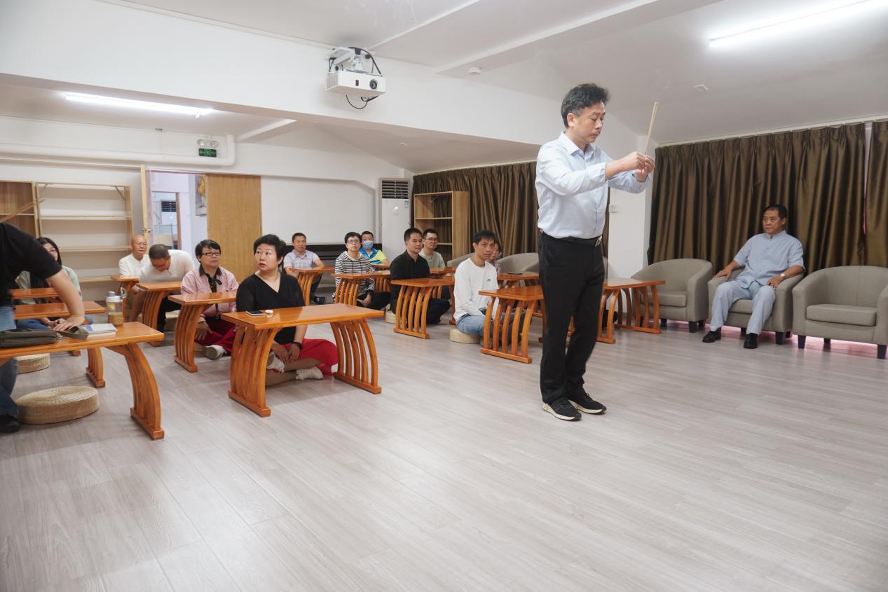 中管院周易文化教育中心首届弟子班